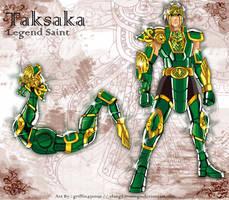 Taksaka Dragon by elangkarosingo