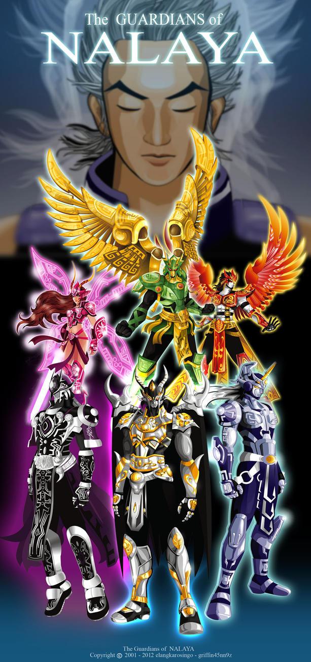 The Guardian of Nalaya by elangkarosingo