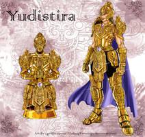 The Golden Armor of Yudistira by elangkarosingo