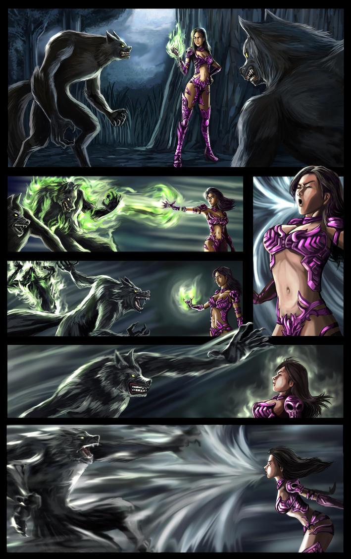 Saevitia Scene 2 by elangkarosingo