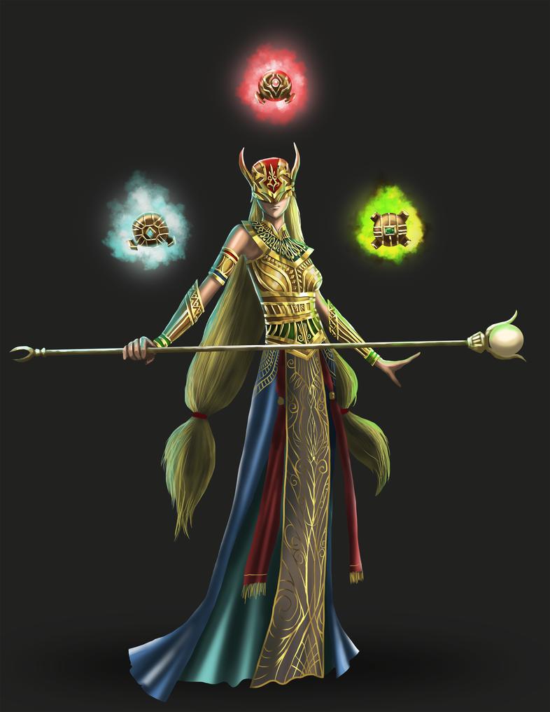 Princess Xi by elangkarosingo