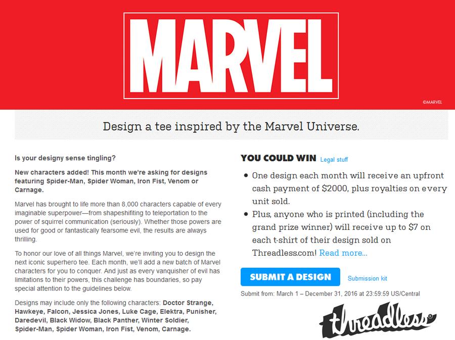 Marvel challenge by elangkarosingo