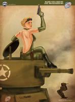 Major Vera by PaulRomanMartinez