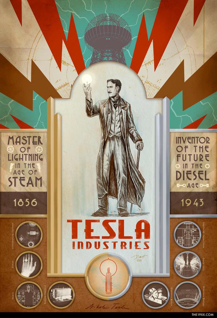 Tesla Industries by PaulRomanMartinez