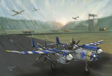 Lightning Aircraft Experimental Model by PaulRomanMartinez