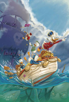 Clear Sailin'! Ducktales + Carl Barks tribute!