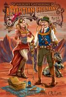 Gaslight Gathering Steampunk Girl and Guy by PaulRomanMartinez