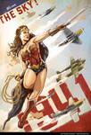 Wonder Woman 1941 - We own the sky!