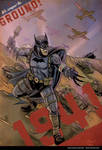 Batman 1941 with the Armored Division