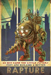 Bioshock Big Daddy and Little Sisters