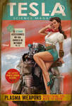 Tesla Science Magazine Cover Fallout 4