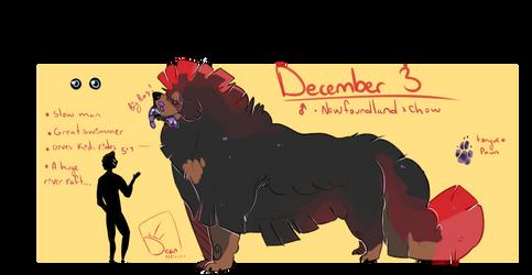 December 3 by nicegaydog