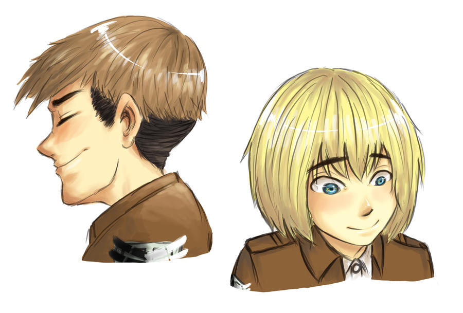 [SnK] blushing cuties by Aeveternal