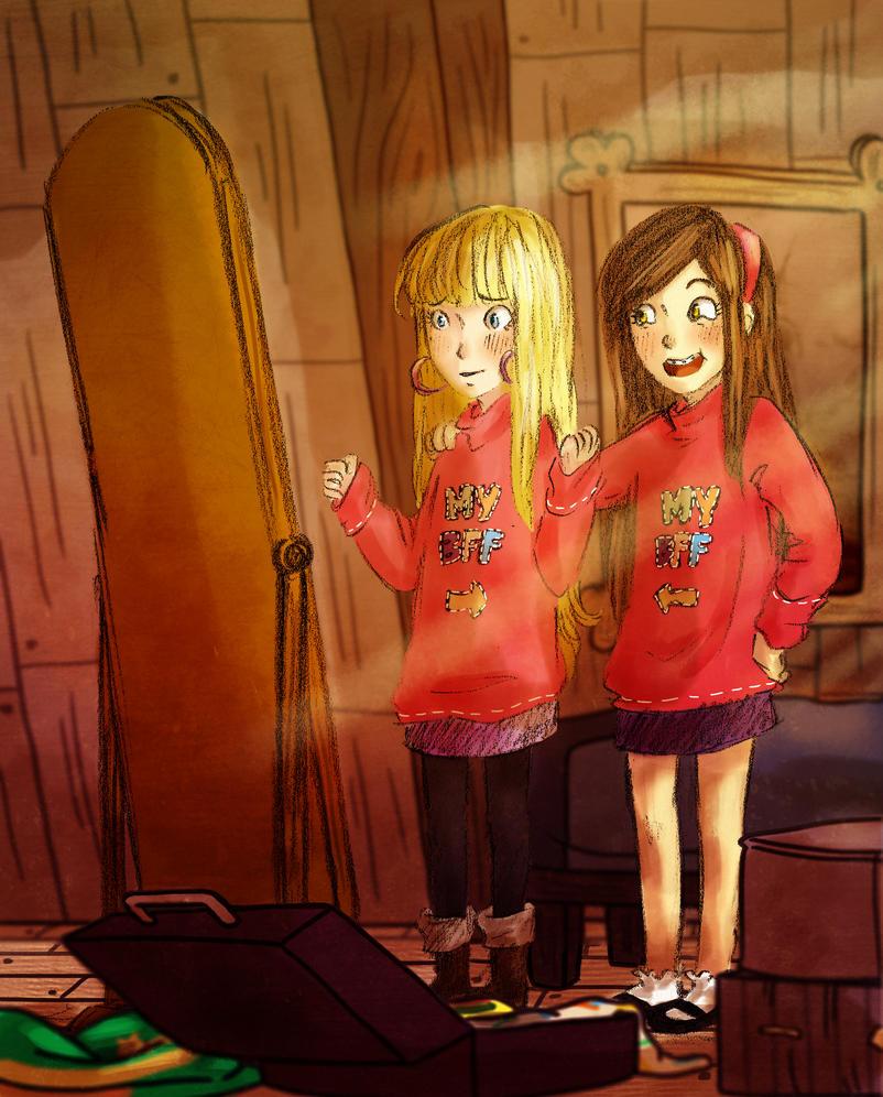 Rockin' that sweater, girlfriend. by Aeveternal