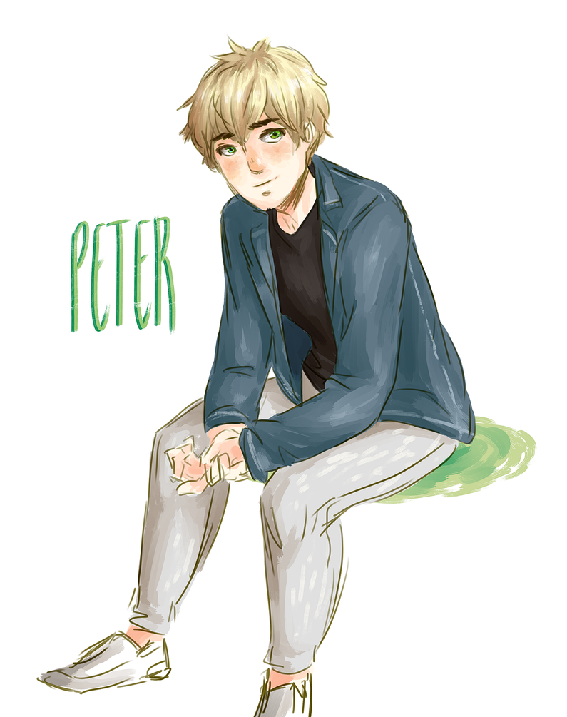 Peter in casual clothes by Aeveternal