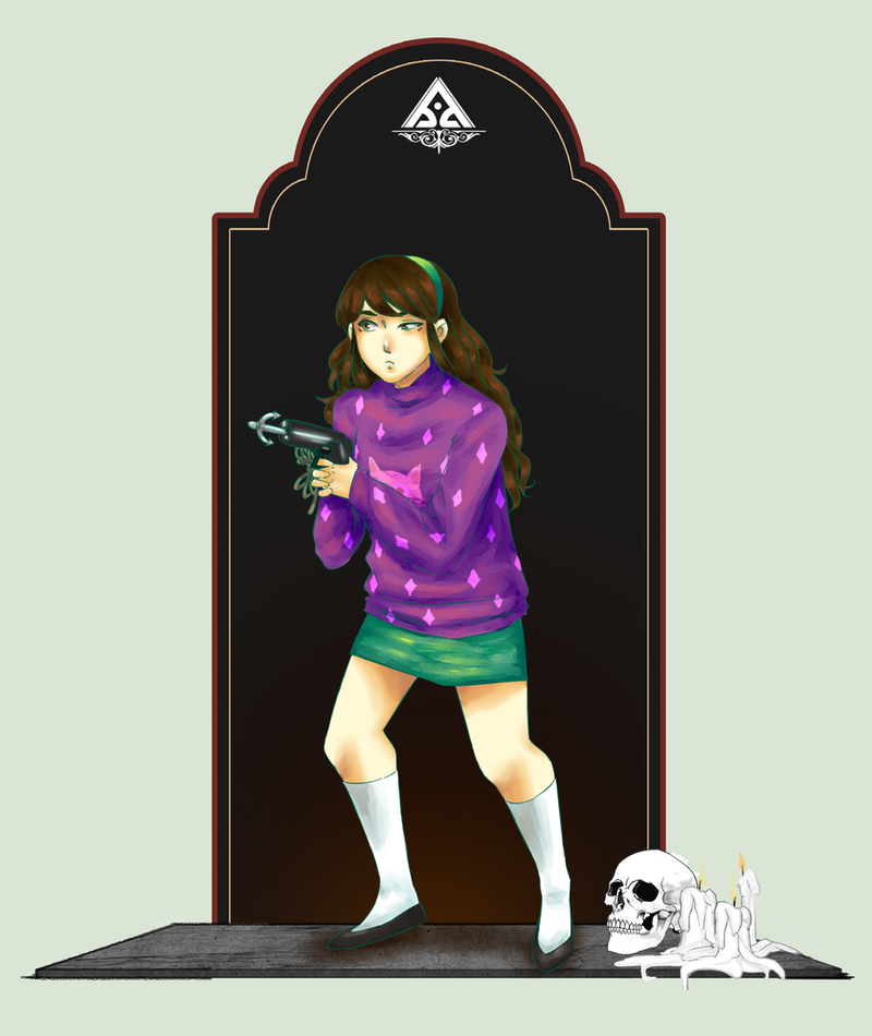 [S.O.S] LiLY as Mabel Pines by Aeveternal