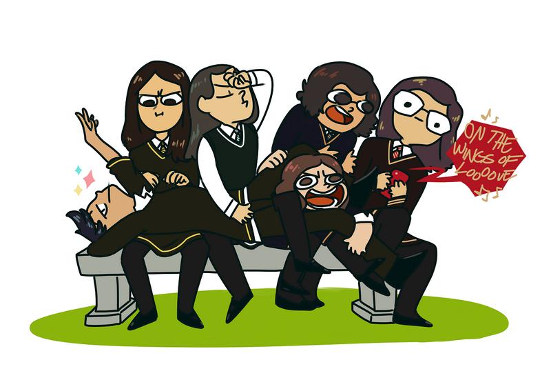 Pottersona Squad by Aeveternal