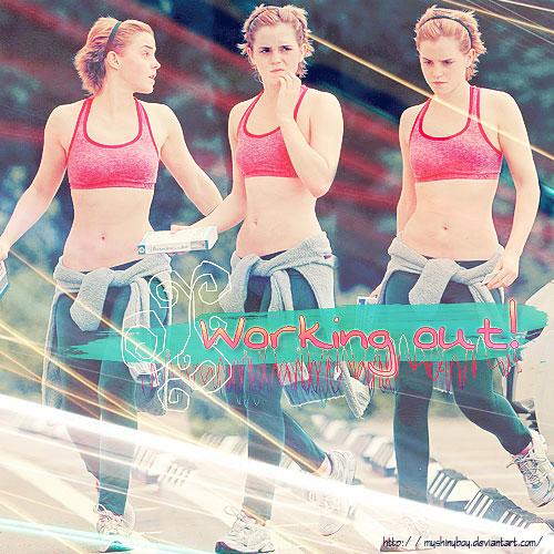 Emma Watson Go to the Gym' by MyShinyBoy