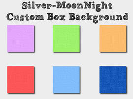 12 Simple Custom Box Background by Silver-Chocolate