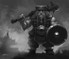 Dwarf by AlexanderKretov