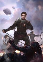 Steampunk Book Cover 1 by AlexanderKretov