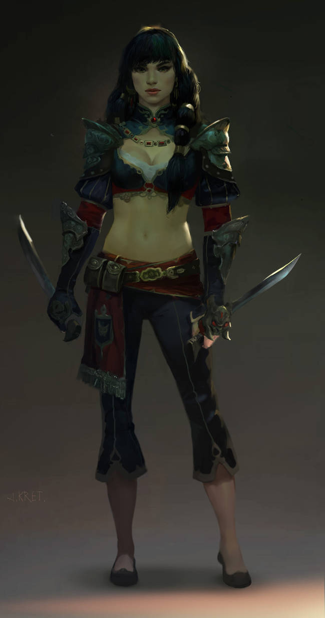 Girl With Daggers