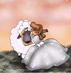 Rose and her Lamb