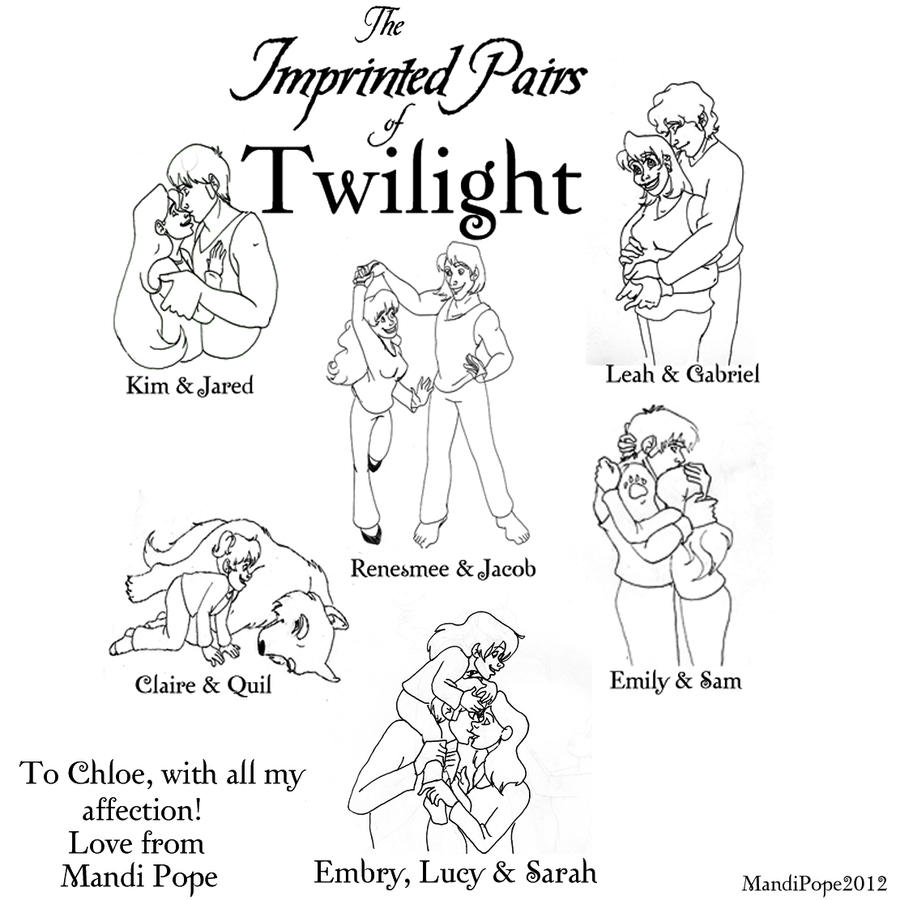 Twilight: Imprinted Pairs for Chloe by MandiPoPoPope on