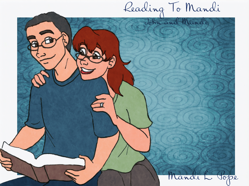 JHB x MLP:  Reading To Mandi by MandiPope