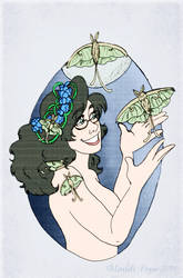 Jericca's Lunar Moths