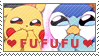 Pokestamptastic - Fufufu by GBIllustrations