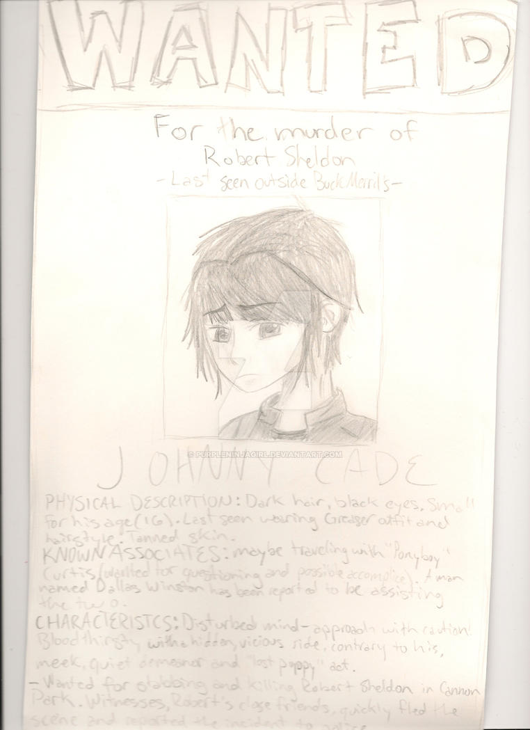 Wanted Poster by PurpleNinjaGirl on DeviantArt