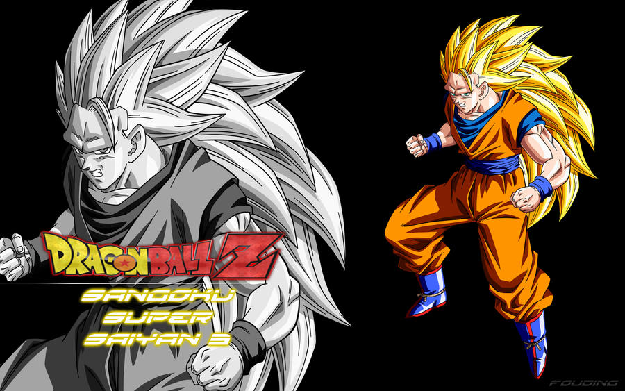 Wallpaper sangoku super saiyan 3 by fouding on deviantart - Sangoku super sayen 6 ...