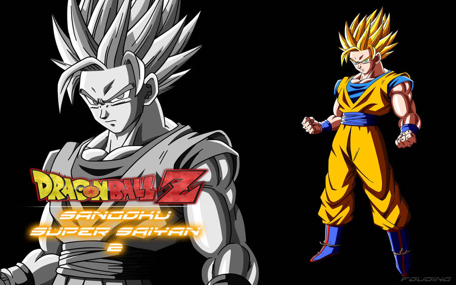 Wallpaper sangoku super saiyan 2 by fouding - Sangoku super sayen 6 ...