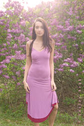 in the lilac grove