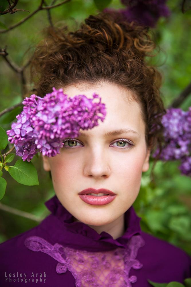 Mariha - In the lilac grove by khavi