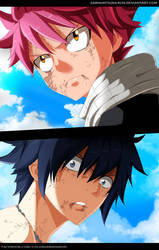 Natsu and Grey | Fairy Tail by Sawadatsuna-kun