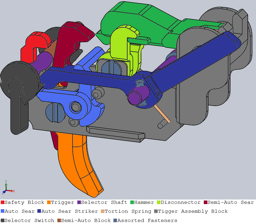 Trigger Assembly Diagram 113511082 as well Building Lightning additionally Watch furthermore Building Lightning further M16 Auto Sear Diagram. on ar 15 full auto sear