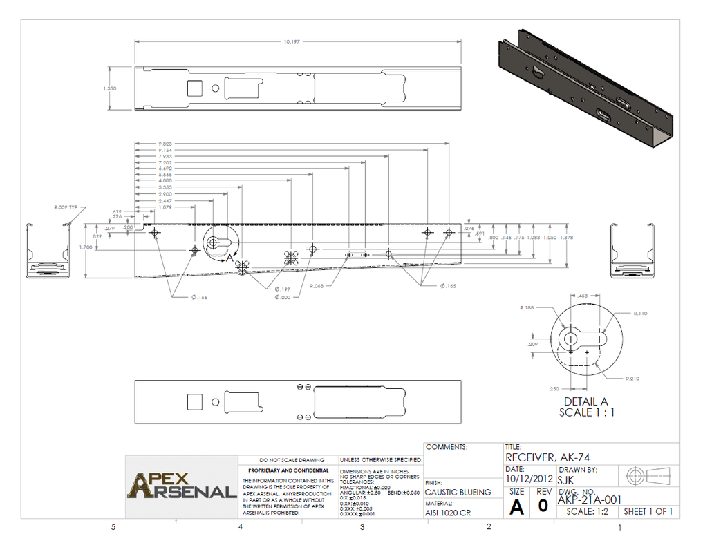 Anyone have a good schematic for an AK74? - The AK Files Forums on