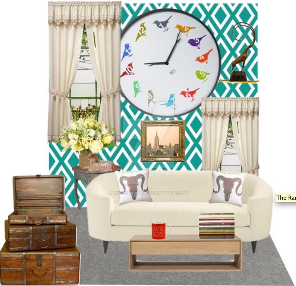 Aries' Living Room By Moonlight662 On DeviantArt