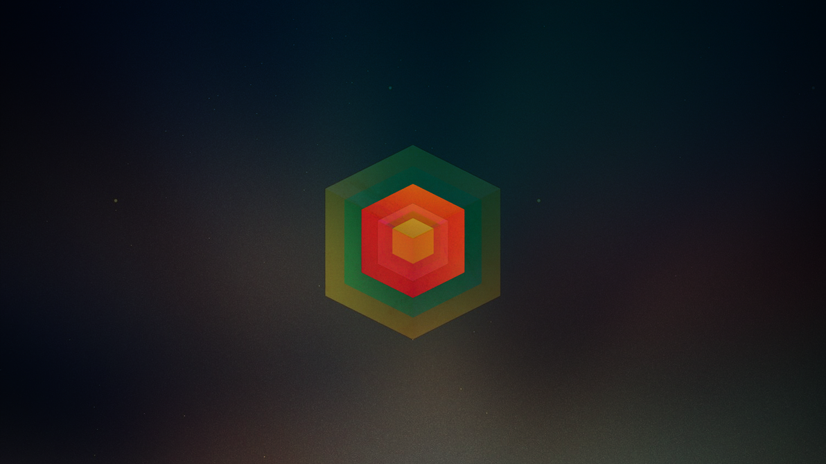 Tesseract minimal wallpaper by skyehunter5 on deviantart for Deviantart minimal wallpaper