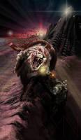 Chimera on desert ruins (revised)