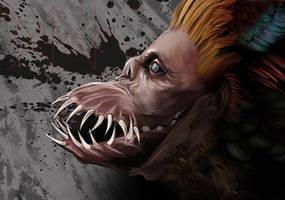 Goblin shark mouth (sketch)
