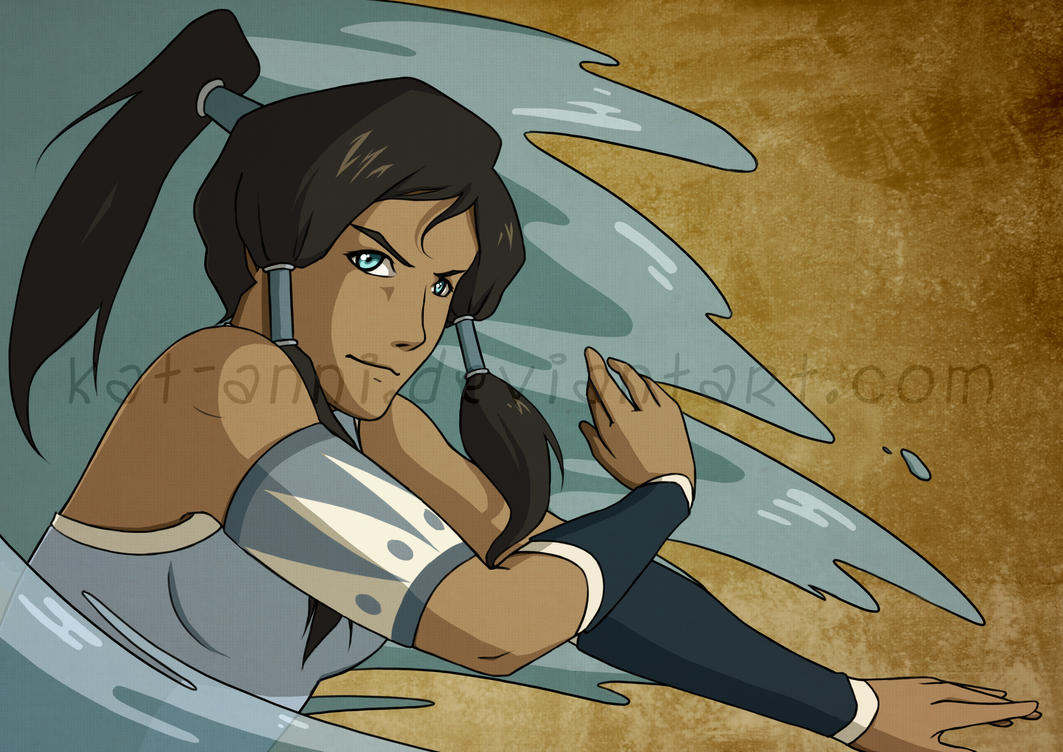 Introducing avatar korra by kat anni