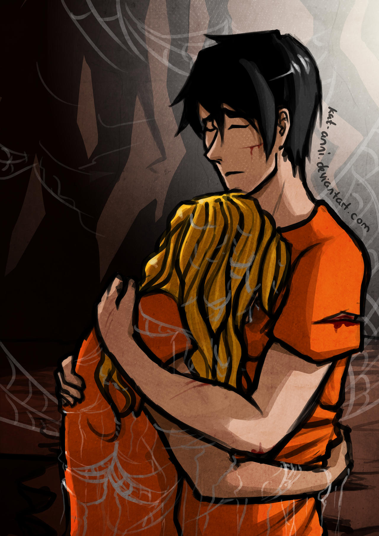 The Mark Of Athena Fan Art It S Okay We Re Together By Kat