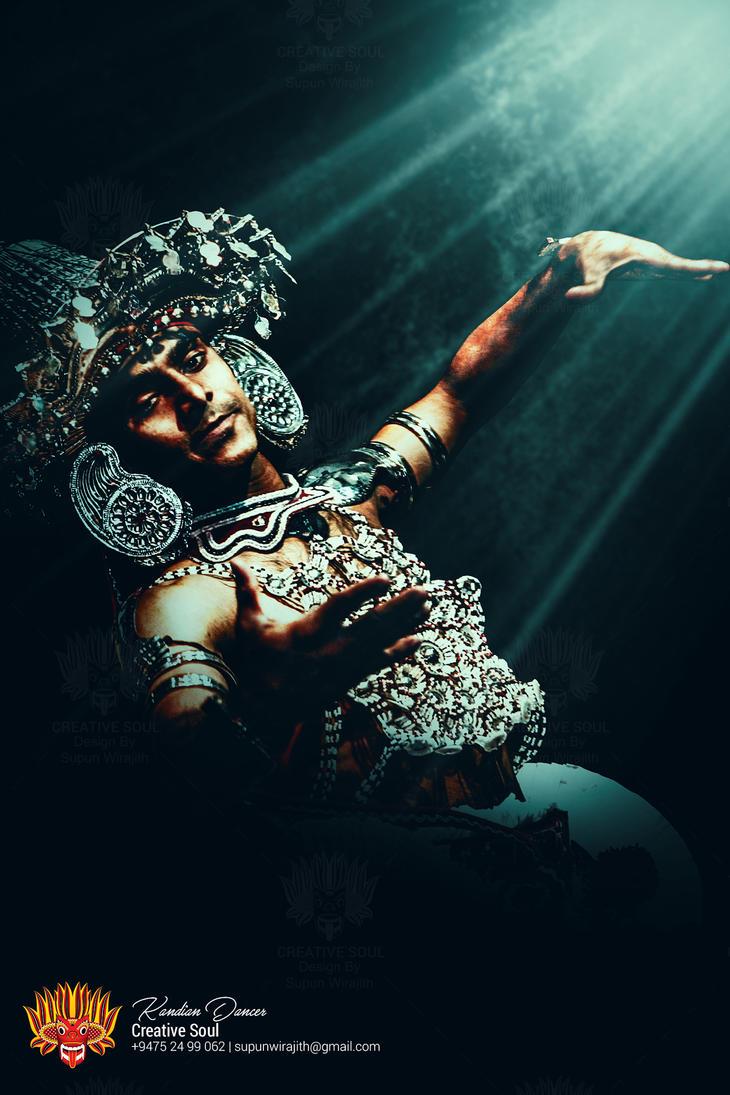 Sri Lankan Kandian Dancer by CreativeSoulSL