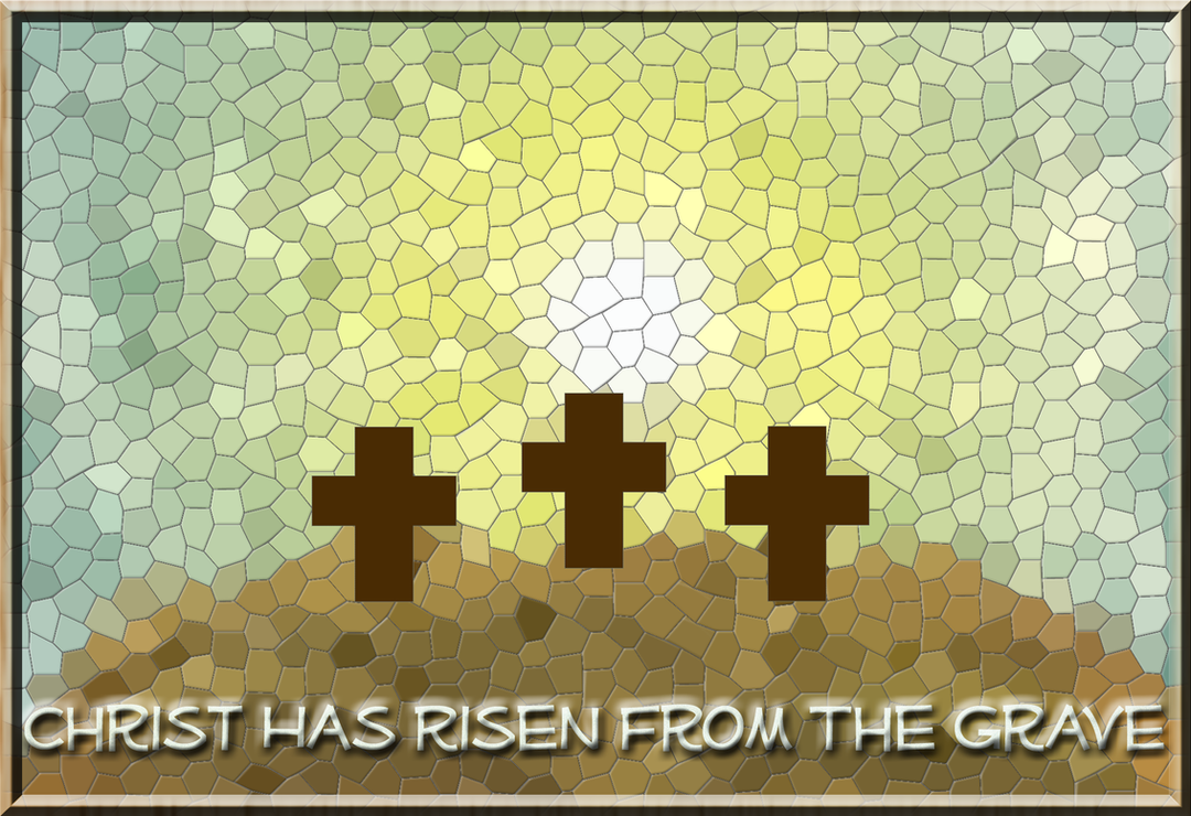Christ Has Risen by CRGPhotography