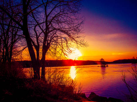 Sunsets on Winter