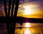 Sunsets on Spring Equinox