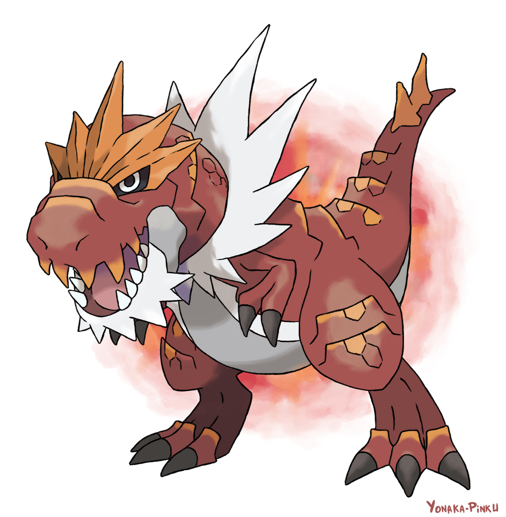 Tyrantrum by AlouNea